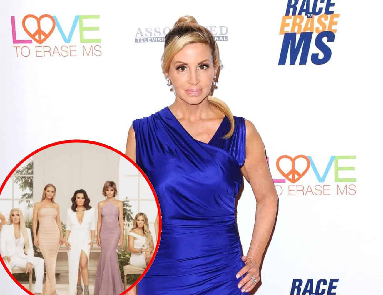 "Camille Grammer Regrets Going to ""Nightmare"" RHOBH Reunion and Calls Costars ""Hypocrites,"" Was She Included in the Cast Dinner After the Filming?"