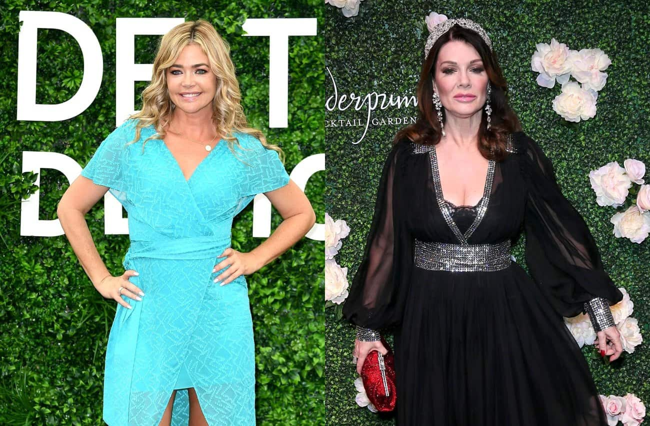 Denise Richards Fires Back at Fan Who Accused RHOBH Cast of Not Sending Condolences to Lisa Vanderpump After Her Mom's Death