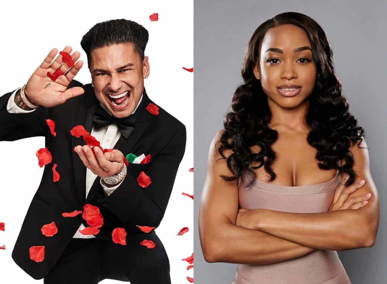 A Double Shot at Love Star Nikki Leaks Pauly D's Text Messages of Him Saying He Loves Her! See the Texts