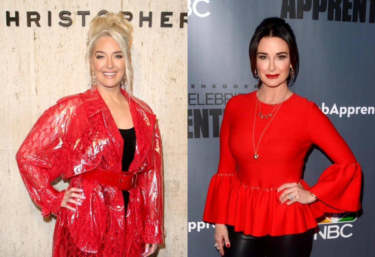 RHOBH Star Erika Jayne Fires Back at Kyle Richards' Claims That She's 'Standoffish' and 'Cold' as Kyle States Erika Has a 'Wall up Often'