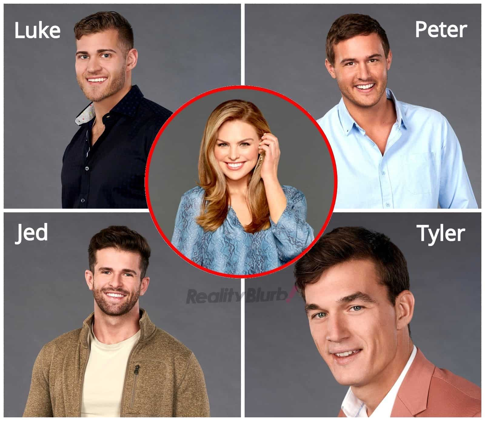 The Bachelorette 2019 Spoilers Hannah Brown Final Four Men