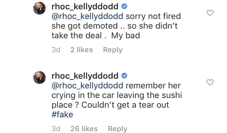 Kelly Dodd Claims Heather Dubrow Was Demoted From RHOC