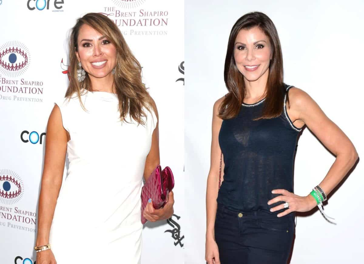 Kelly Dodd Slams Heather Dubrow For Saying She Won't Return to the RHOC Because of Her, Reveals Season 14 Premiere Date