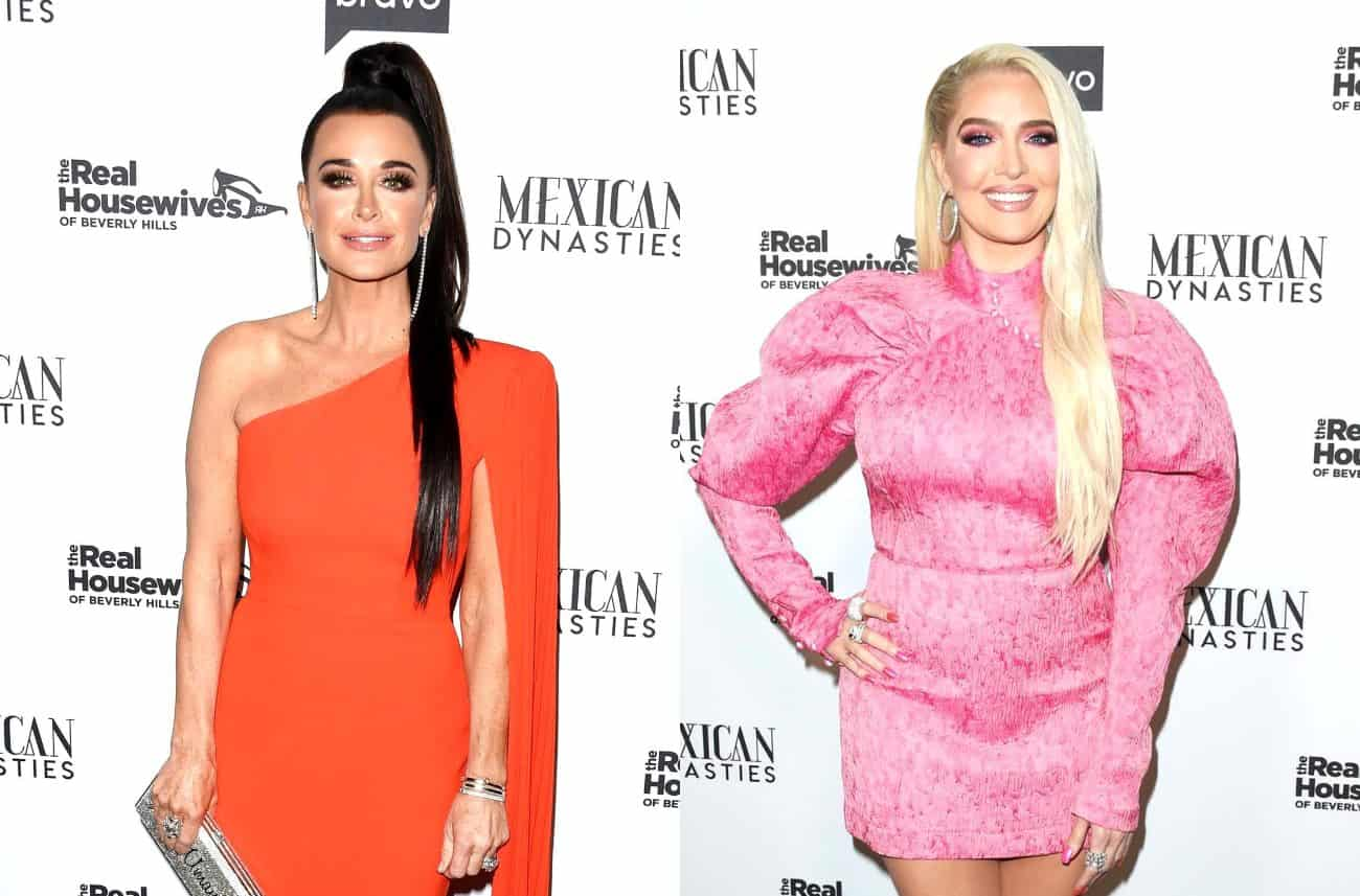 Kyle Richards Speaks Out After Erika Jayne Accuses the Cast of Bullying Her During France Trip, Plus RHOBH Live Viewing Thread!