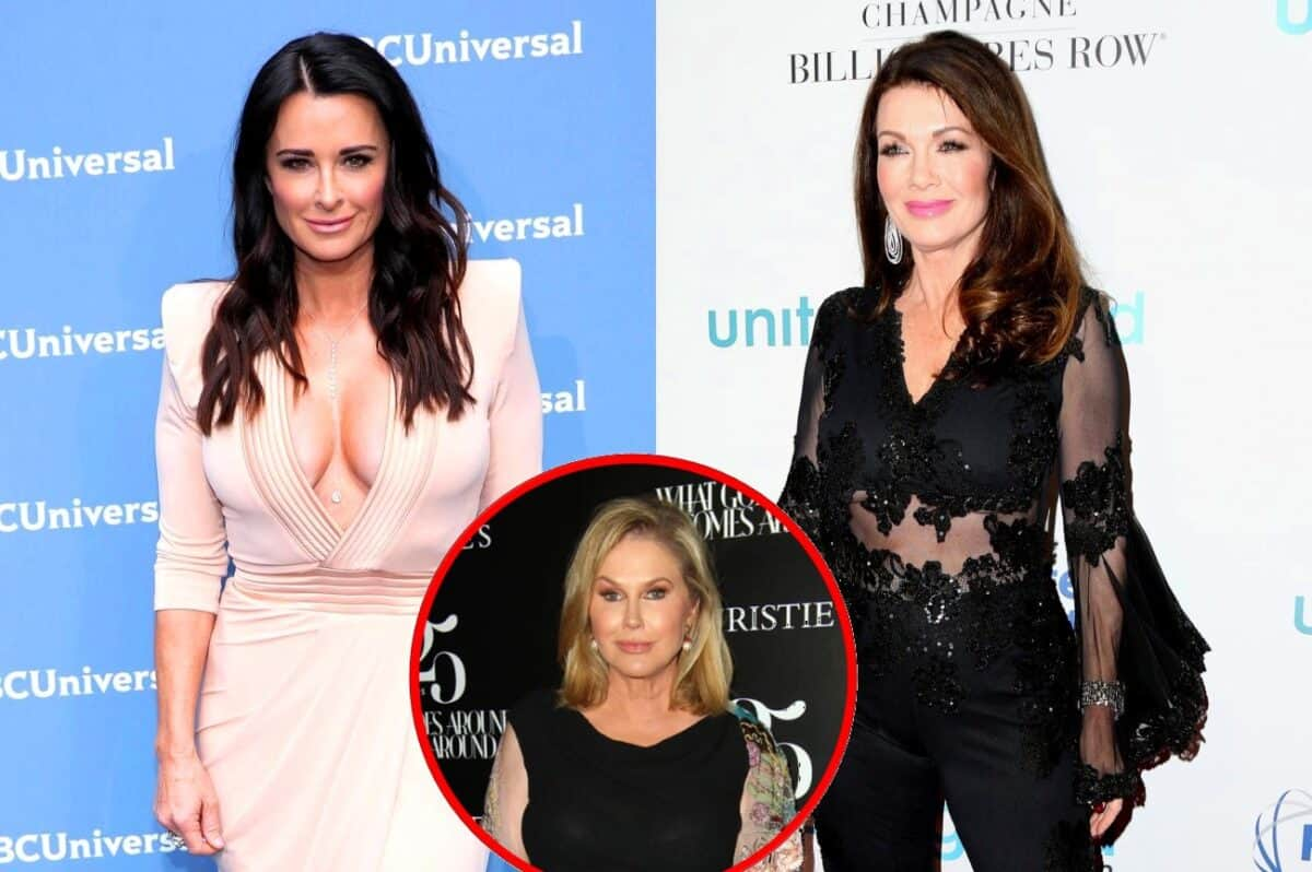 Kyle Richards Thinks Lisa Vanderpump's Lying About Not Watching RHOBH, Addresses Sister Kathy Hilton Casting Rumors and Dinner Scene Drama!