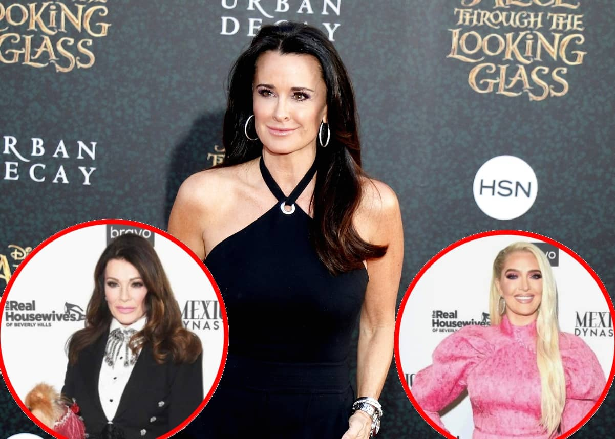 Kyle Richards kathy hilton