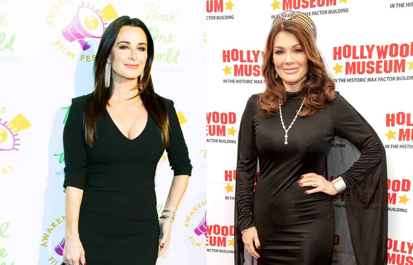 RHOBH's Kyle Richards Fires Back at Lisa Vanderpump's Diss by Mentioning Her Wine Line After Lisa Stated Kyle Gave Her Worst Gift