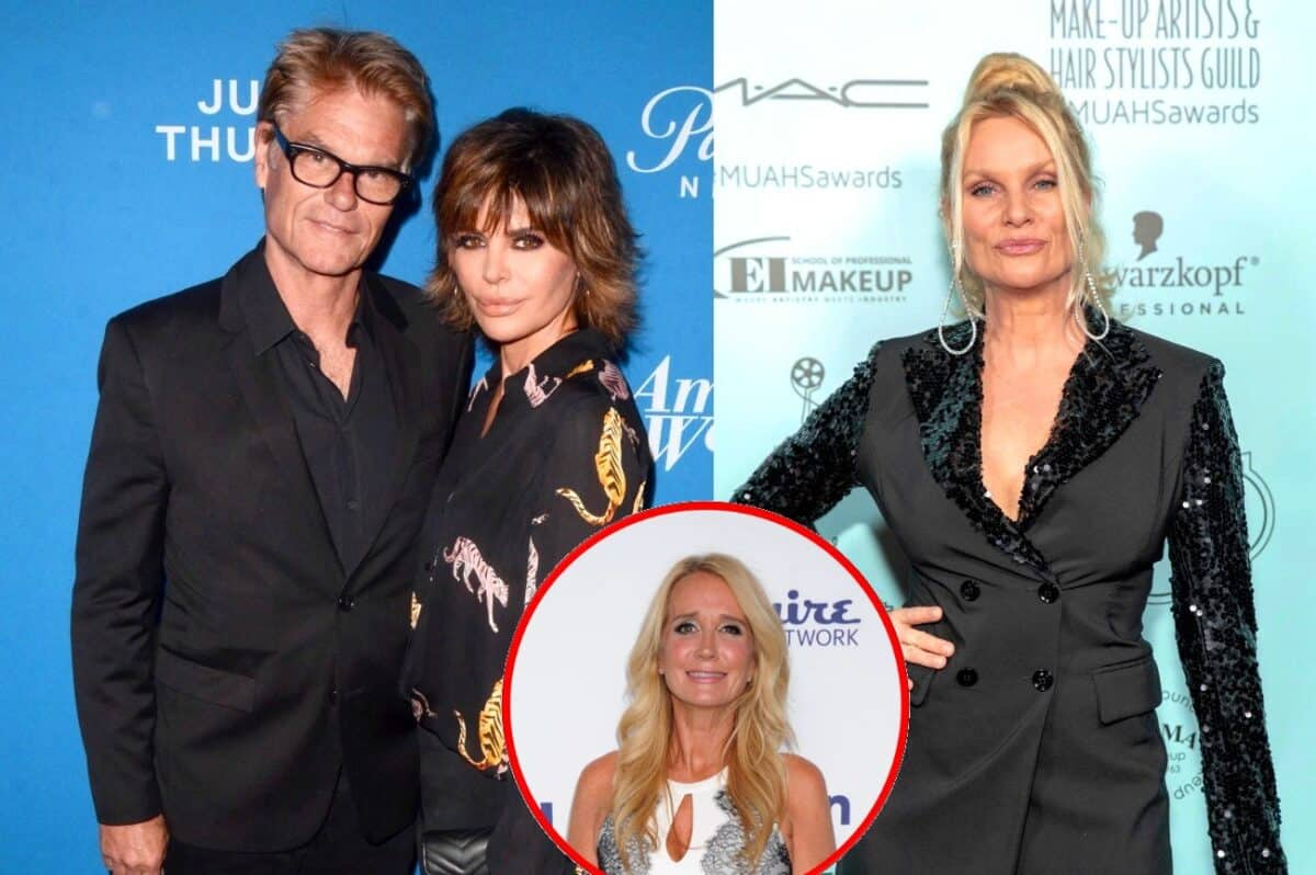 RHOBH Star Lisa Rinna Disses Harry Hamlin's Ex-Wife Nicollette Sheridan! Plus Has She Spoken to Kim Richards Since the Halloween Party?