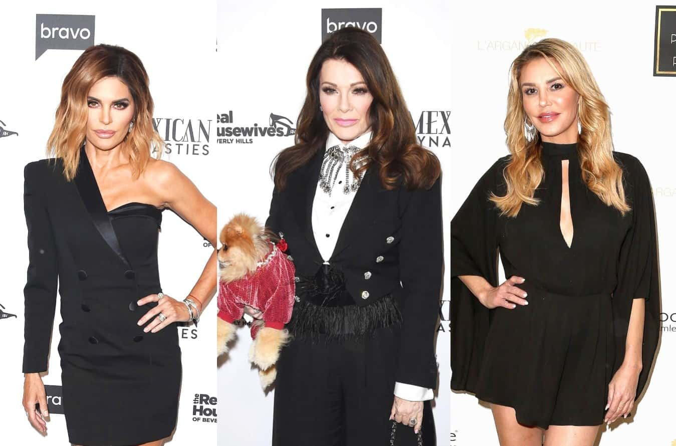 "RHOBH Star Lisa Rinna Says Lisa Vanderpump ""Severely Damaged"" Brandi Glanville's Life, Explains Why She Apologized to Brandi & Denies Being ""Nasty"" to Vanderpump"