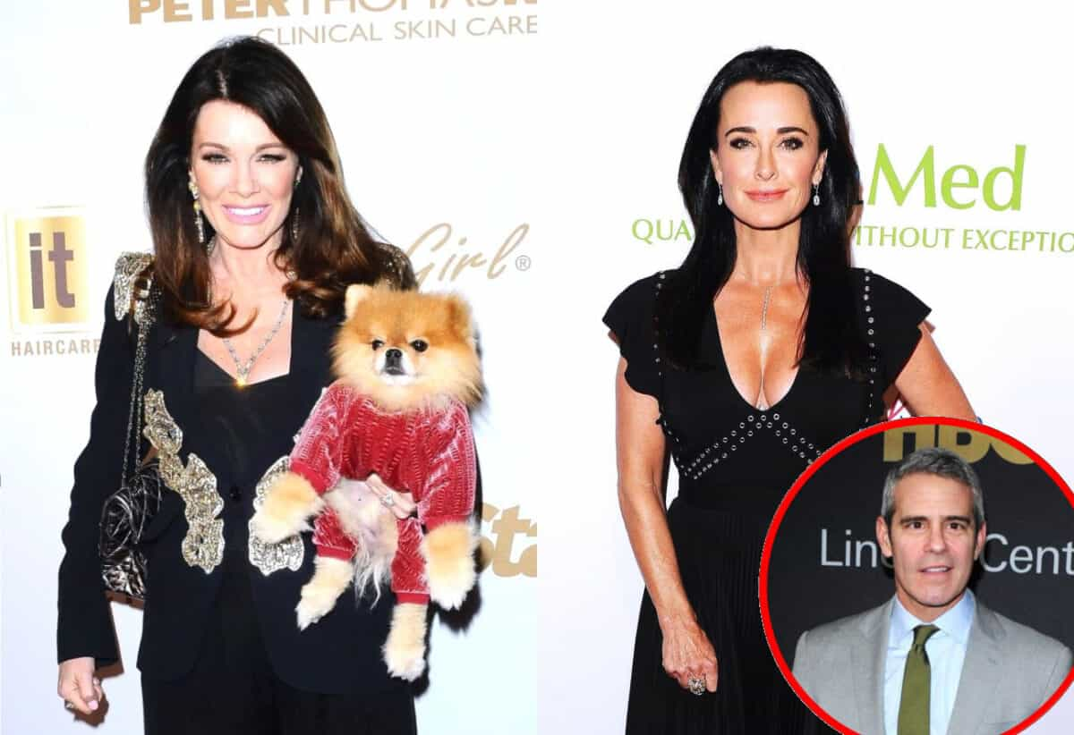 Lisa Vanderpump Reacts After Kyle Richards Insists There's No Queen on RHOBH as Andy Cohen Calls Her 'Queen' of the Show