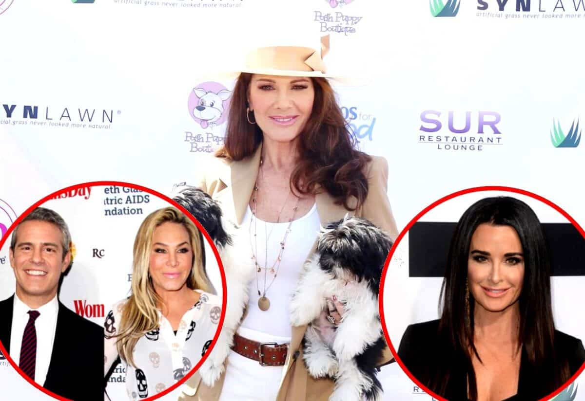 Lisa Vanderpump Reacts to Andy Cohen's Adrienne Maloof Comparison After Skipping RHOBH Reunion, Fires Back at Kyle Richards for Implying She Lied