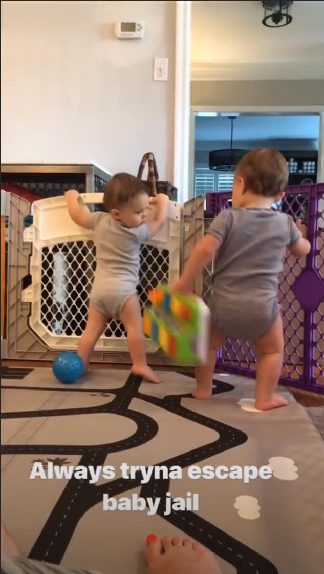 RHOC Meghan King Edmonds Father's Day With Twins