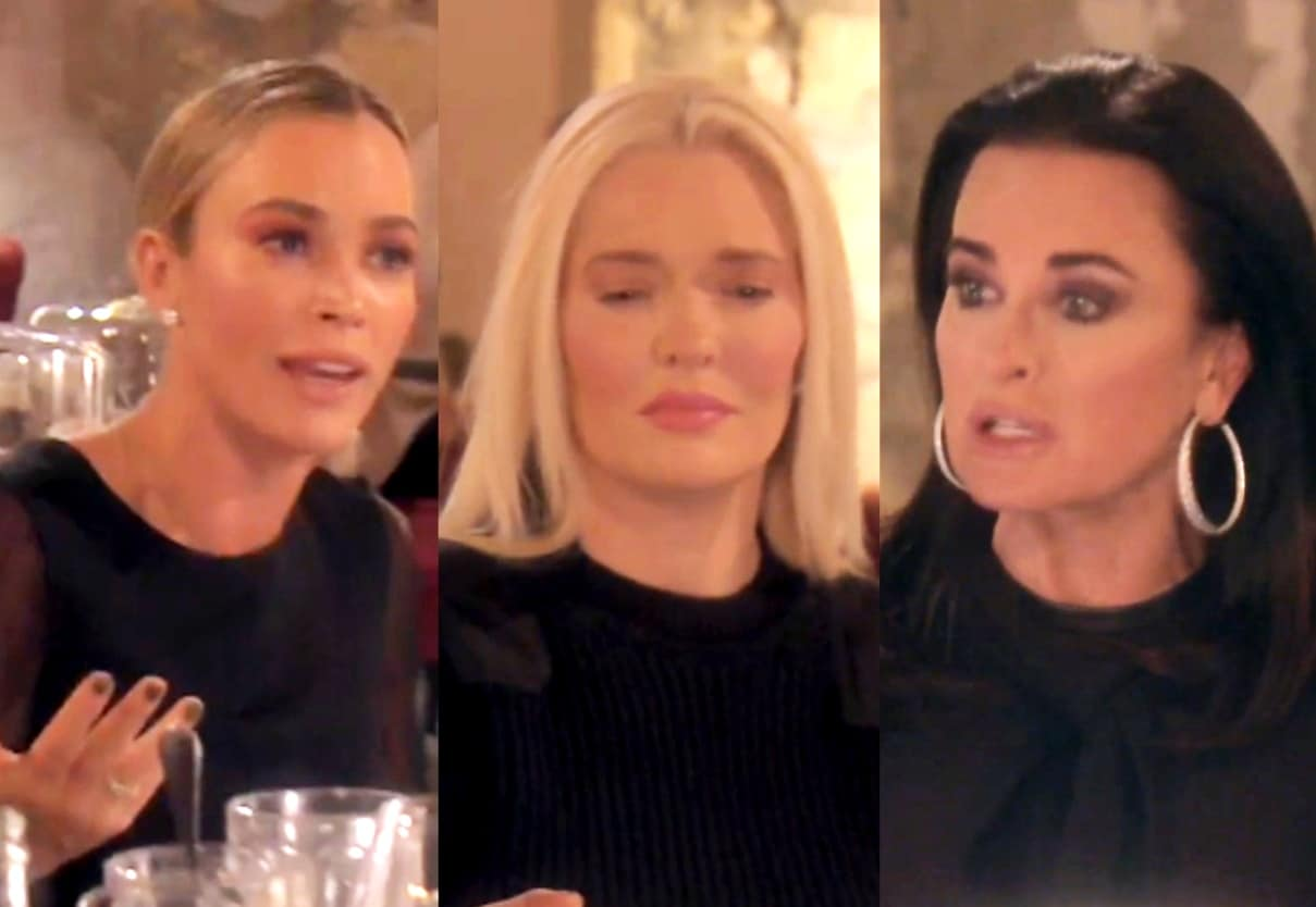 The Real Housewives of Beverly Hills Recap: Teddi and Kyle Attempt to Bait Erika, Plus Kyle Reveals Past Anorexia Battle