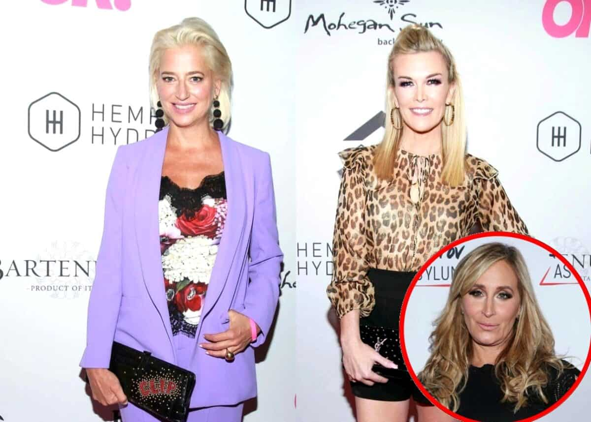 Dorinda Medley and Tinsley Mortimer Reveal the RHONY Scenes They Wish Never Aired, Plus Sonja Morgan Talks Ups and Downs of Reality TV