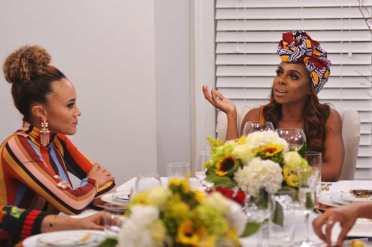The Real Housewives of Potomac Recap: Candiace Waves Knife in Ashley's Face During Heated Fight