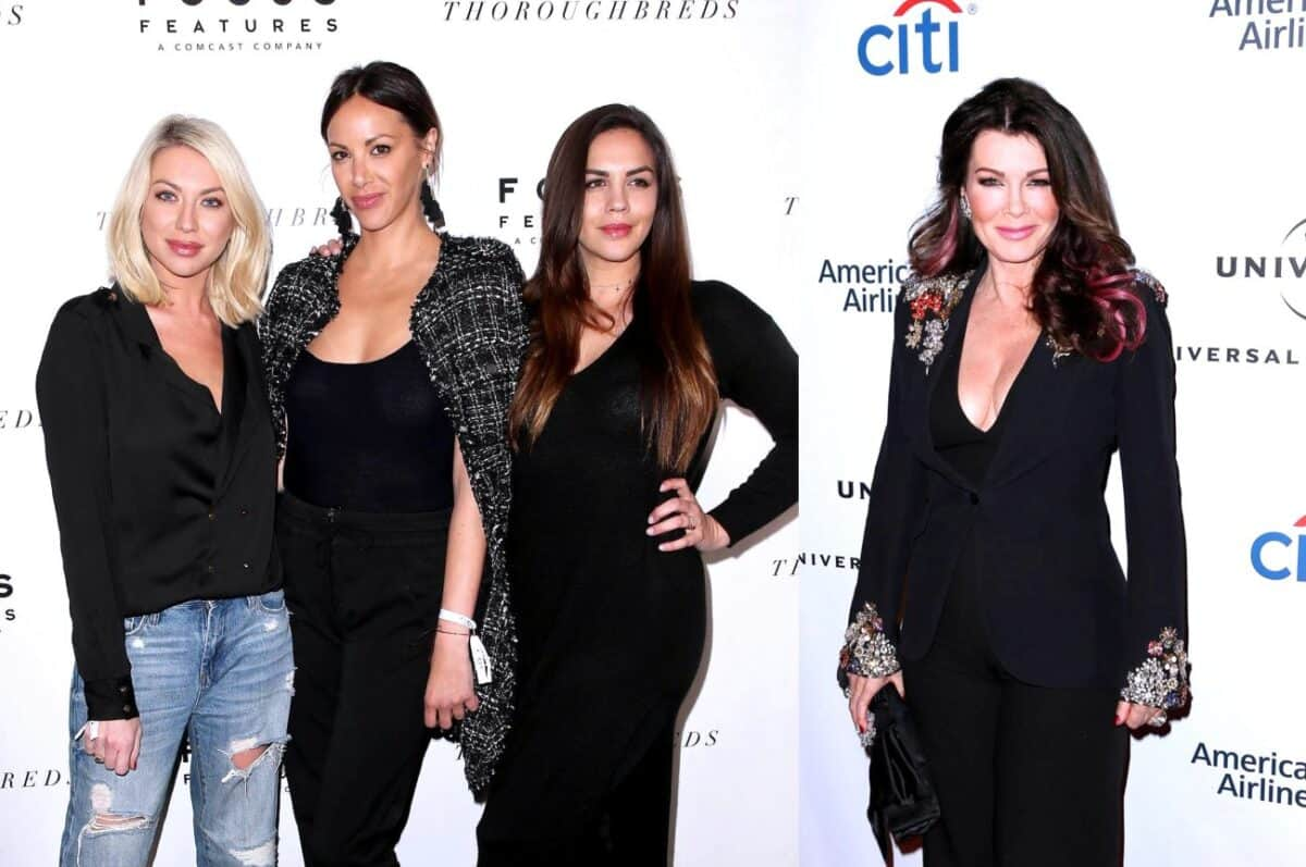 Vanderpump Rules Stars Stassi Schroeder, Kristen Doute and Katie Maloney Talk Lisa Vanderpump Leaving the RHOBH