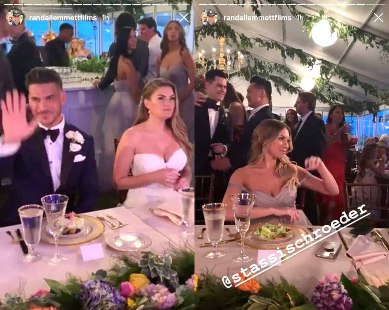 Stassi at Jax and Brittany's Wedding
