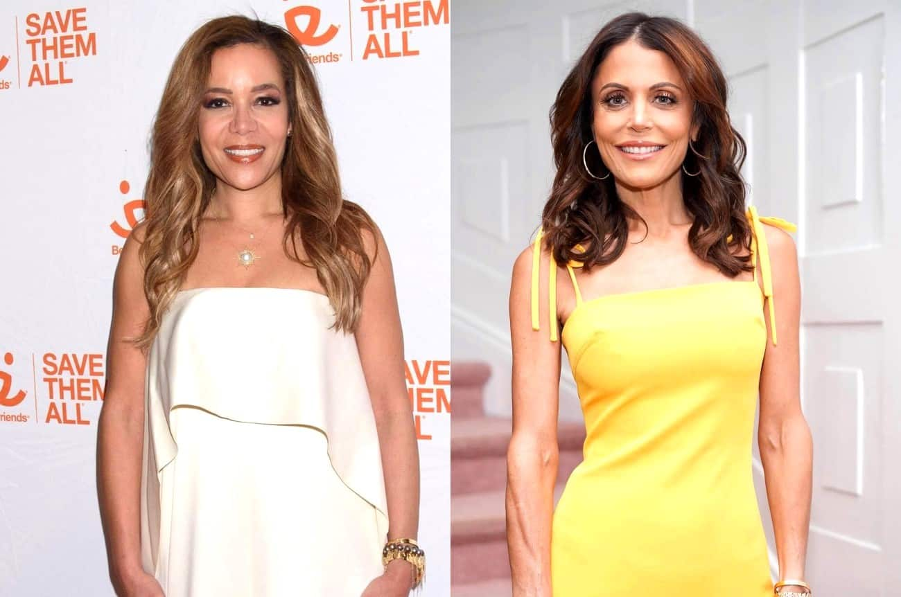 The View Host Sunny Hostin Accuses Bethenny Frankel of Yelling at Her Child and Compares It to RHONY Scene