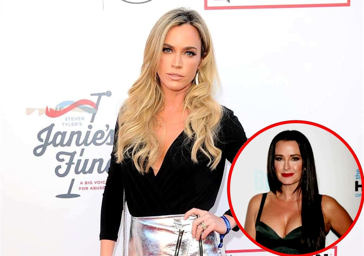 RHOBH Star Teddi Mellencamp Denies Morphing Into Kyle Richards