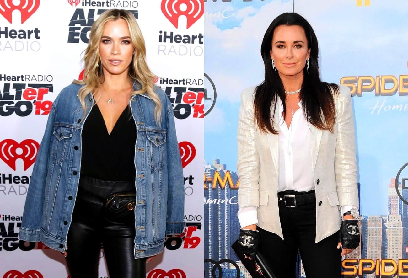 RHOBH Star Teddi Mellencamp Addresses Claims of Doing Kyle Richards' Bidding, Was She Acting as a 'Henchwoman?'