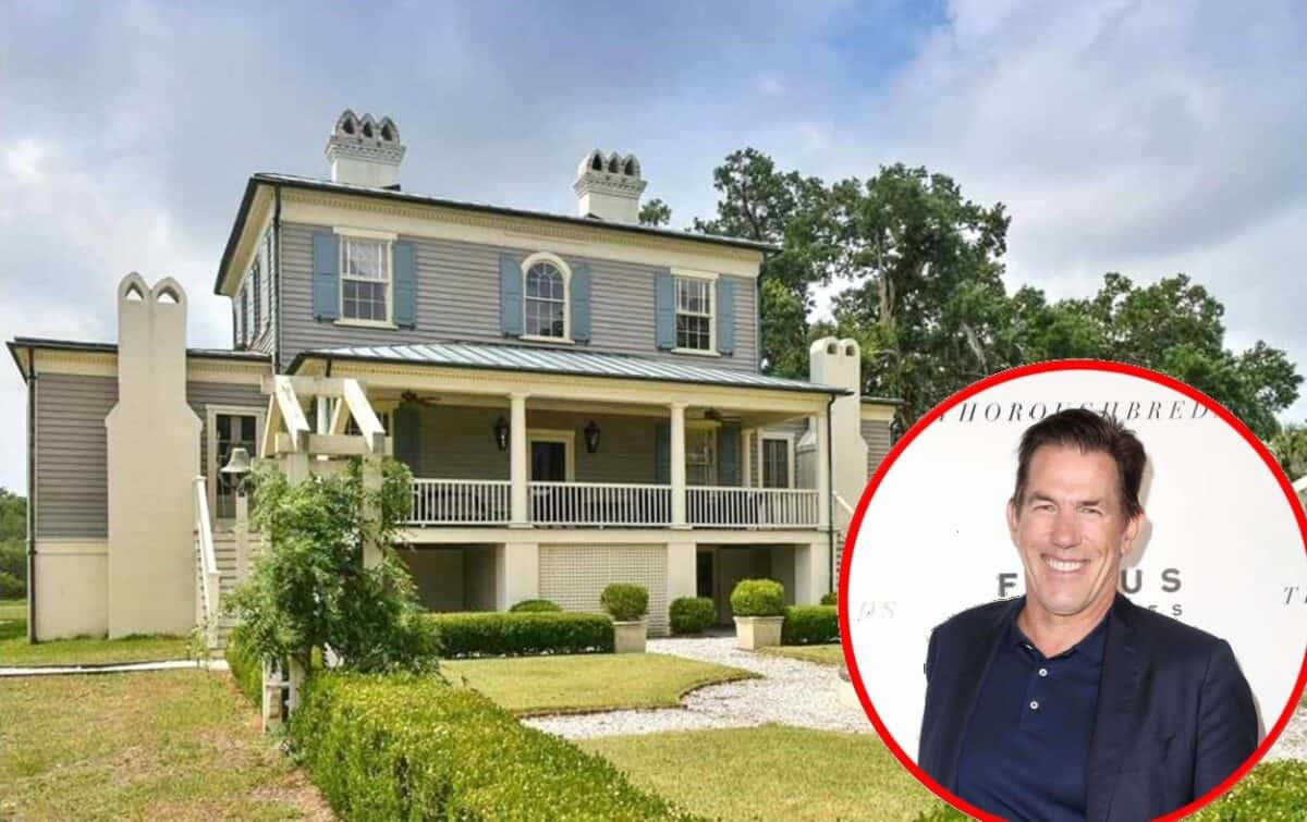 PHOTOS: Southern Charm's Thomas Ravenel Lists Plantation Home for $3.9 Million Amid Legal Drama, See Inside!
