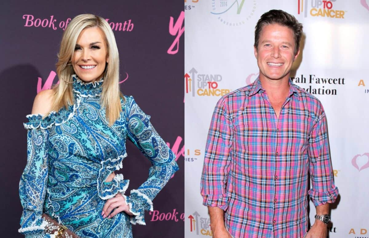 Is RHONY's Tinsley Mortimer Dating Billy Bush After Reuniting With Boyfriend Scott Kluth?
