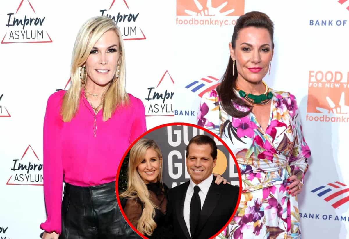 Are Tinsley Mortimer and Luann de Lesseps Facing Possible RHONY Firings? Plus Anthony Scaramucci's Wife Deidre in Talks to Join Cast!