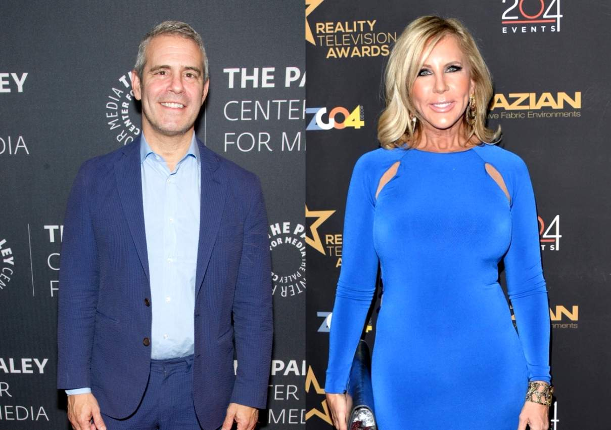 Andy Cohen Explains Why Vicki Gunvalson Was Demoted to a 'Friend' Role