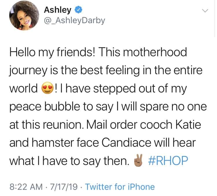 Ashley Darby responds to Katie Rost