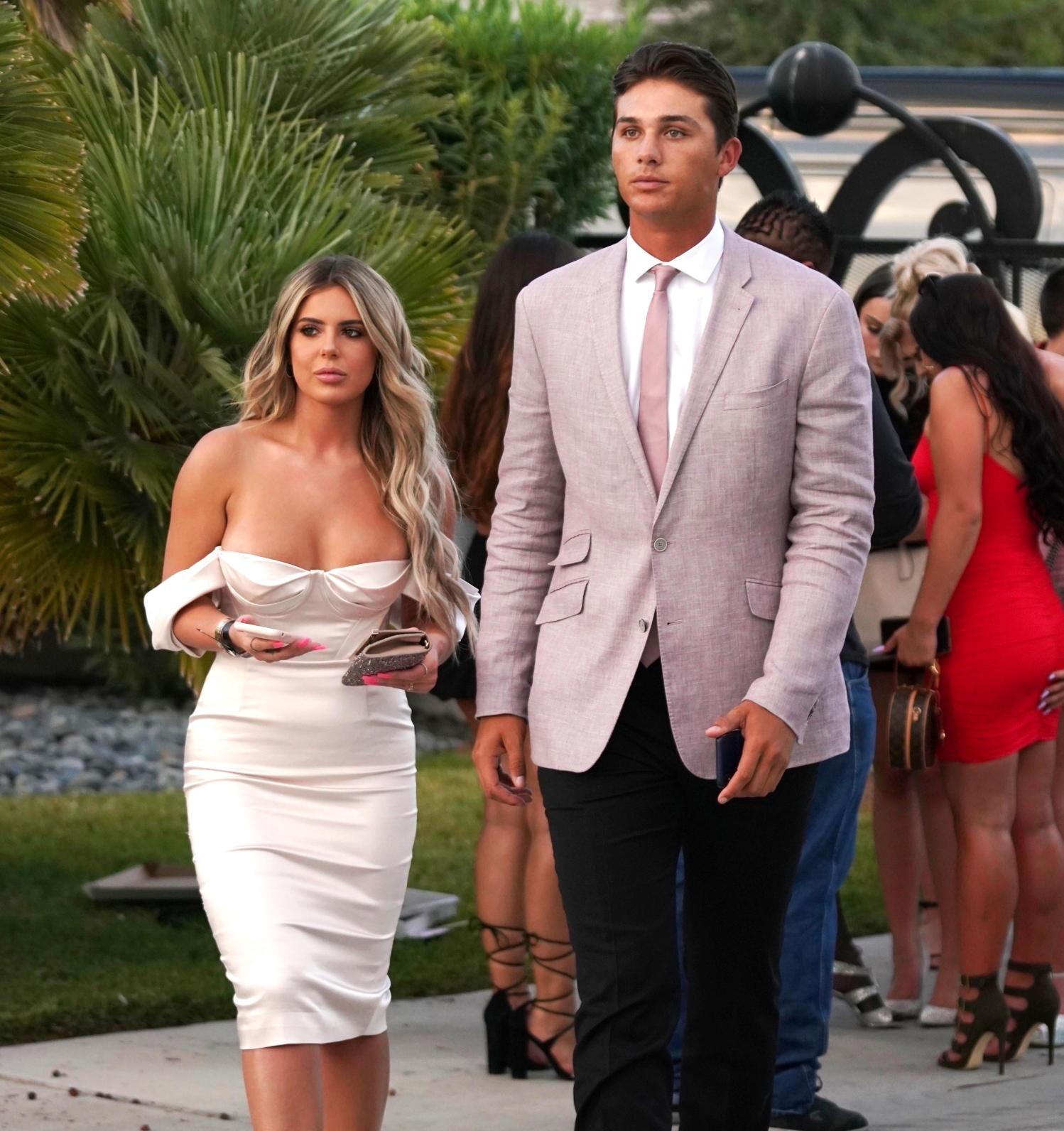 PHOTOS: Don't Be Tardy Star Brielle Biermann Gets Cozy Baseball Player Justin Hooper at Vegas Wedding