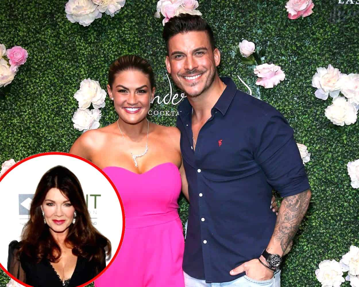 Jax Taylor Reveals If He's in Touch With Lisa Vanderpump and Offers Update on Mother-in-Law Sherri's Health, Vanderpump Rules Star Shares 3D Baby Photos and Confirms He and Brittany Have Chosen a Baby Name