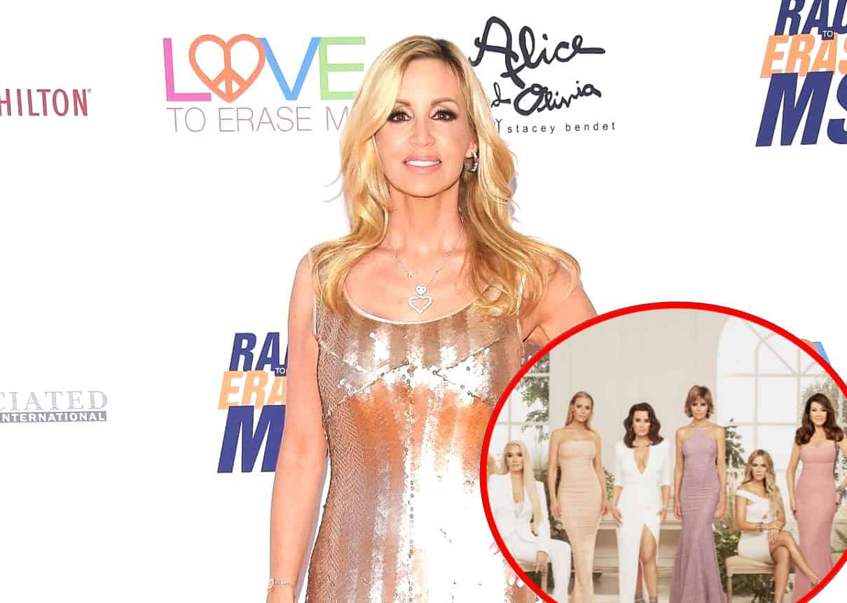 "Camille Grammer Reveals Why a RHOBH Producer Was Unhappy With the Cast, Says She is ""Definitely Underpaid"""