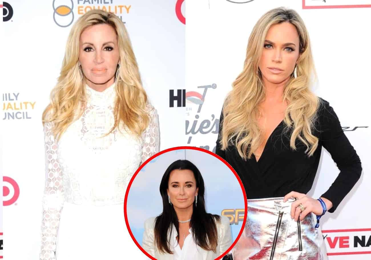 "RHOBH's Camille Grammer Accuses Teddi Mellencamp of Being Kyle's ""Mouthpiece"" as Teddi Claims Camille Has 'Phony Friendship' With Kyle"