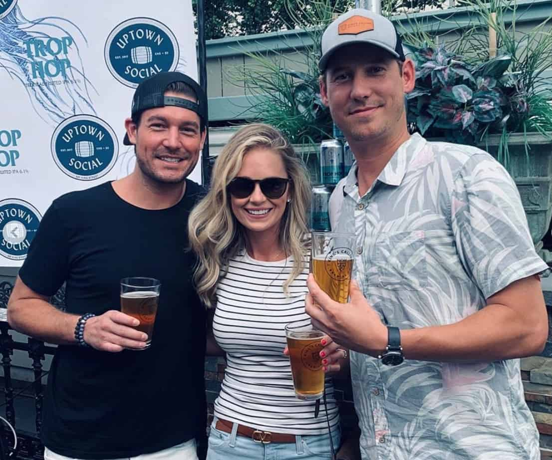 Southern Charm Craig Conover and Cameran Eubanks Attend Austen Kroll's Beer Launch