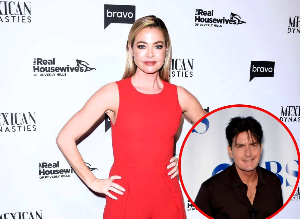 What RHOBH Scene Made Charlie Sheen Upset With Ex-Wife Denise Richards