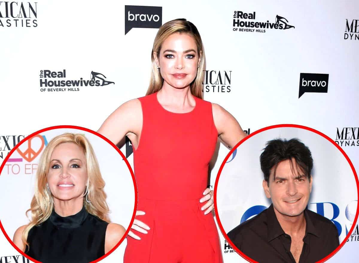 "Denise Richards Reveals the Real Reason RHOBH Cast Was Upset With Camille Grammer, Plus She Talks Charlie Sheen Being Upset Over Show and ""Humiliating"" Divorce"