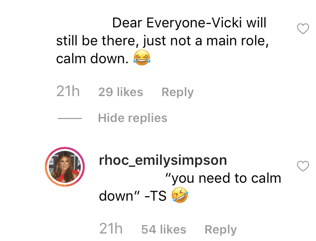 RHOC Emily Simpson on Vicki Gunvalson Demotion
