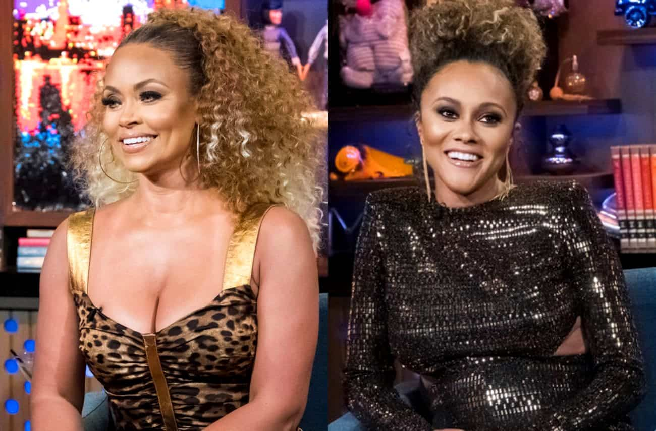 "RHOP Star Gizelle Bryant Calls Ashley Darby's Reaction to Husband's Rumors a ""Classic Case of Denial"""
