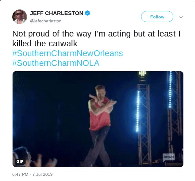Jeff Charleston Tweet
