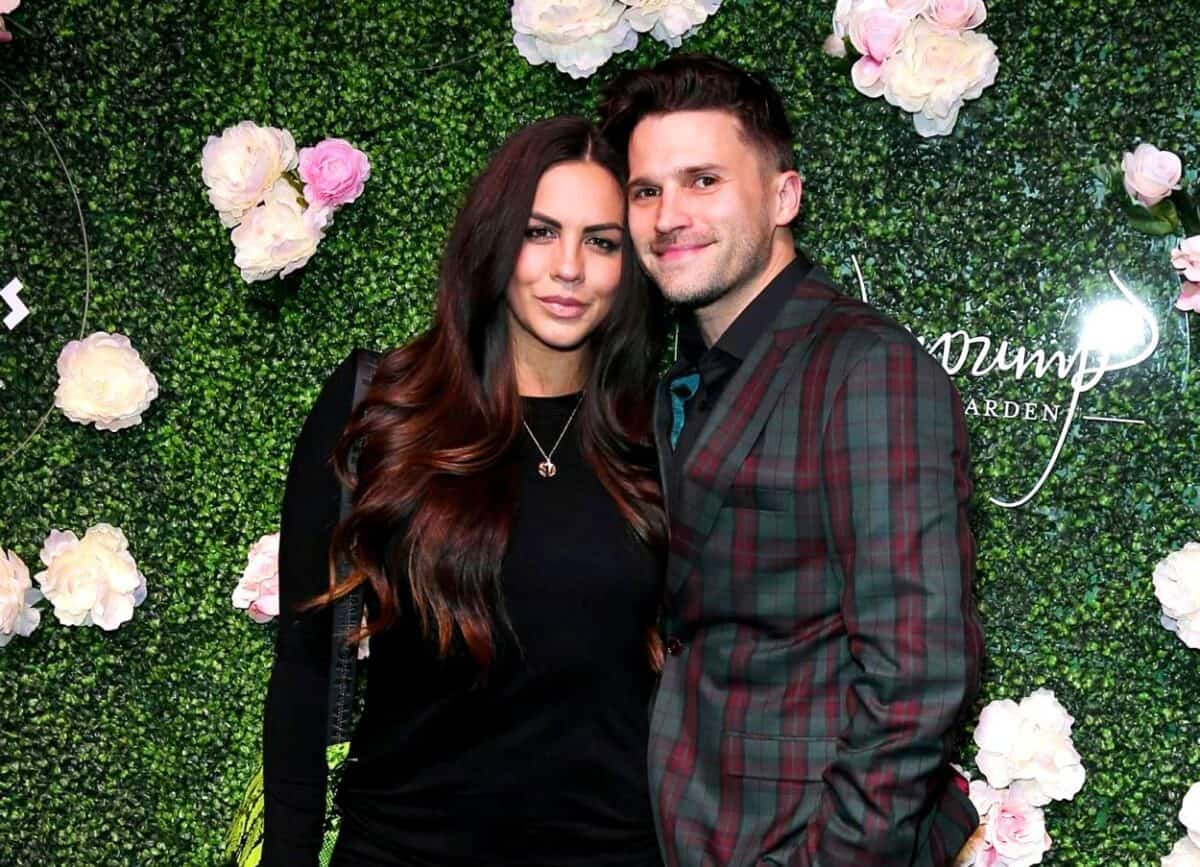 "Vanderpump Rules' Katie Maloney Responds to Husband Tom Schwartz Saying He Doesn't Want to Sleep With Her as Tom Admits He Was ""Out of Line"" and Explains Outburst"