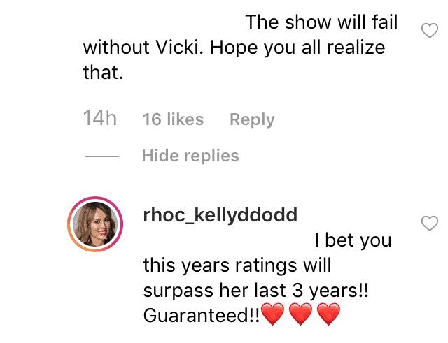 RHOC Kelly Dodd Reacts to Vicki Gunvalson Demotion