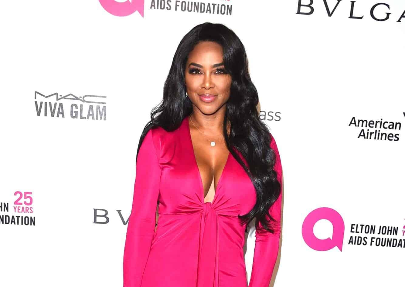 PHOTOS: RHOA's Kenya Moore Shows Off 25 Lbs Weight Gain and Reveals Her Current Weight!