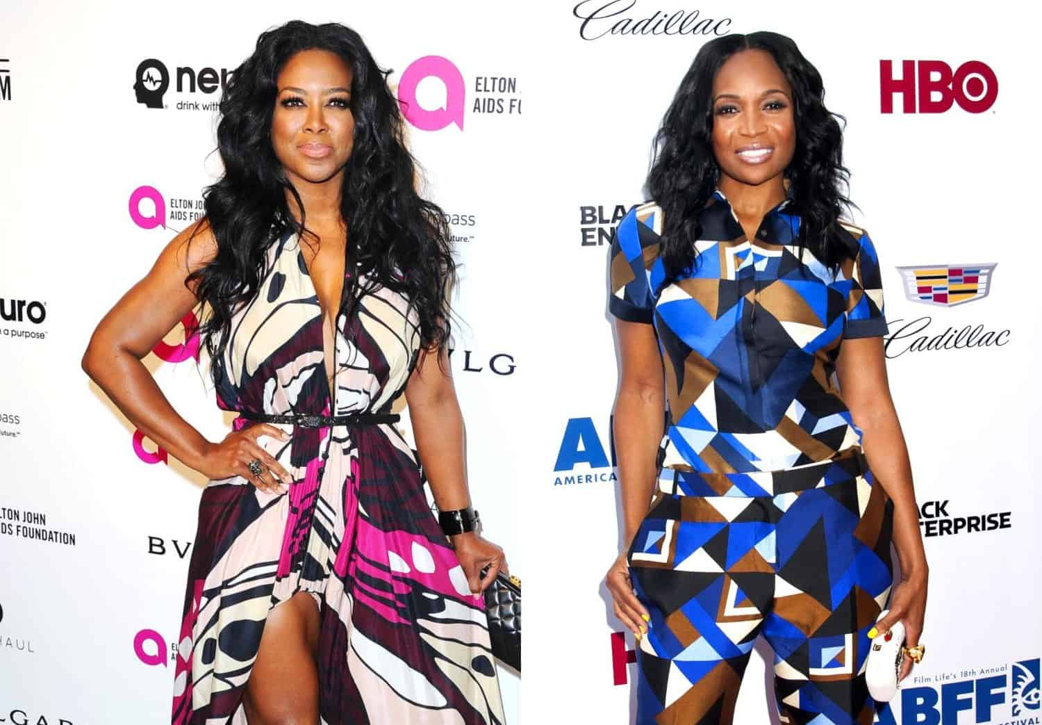 Was Rhoa S Kenya Moore Kicked Out Of Marlo Hampton S Event See A Video Of Their Shocking Encounter Reality Blurb