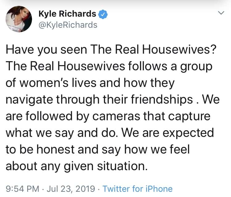 Kyle Richards Explains Concept of the Real Housewives