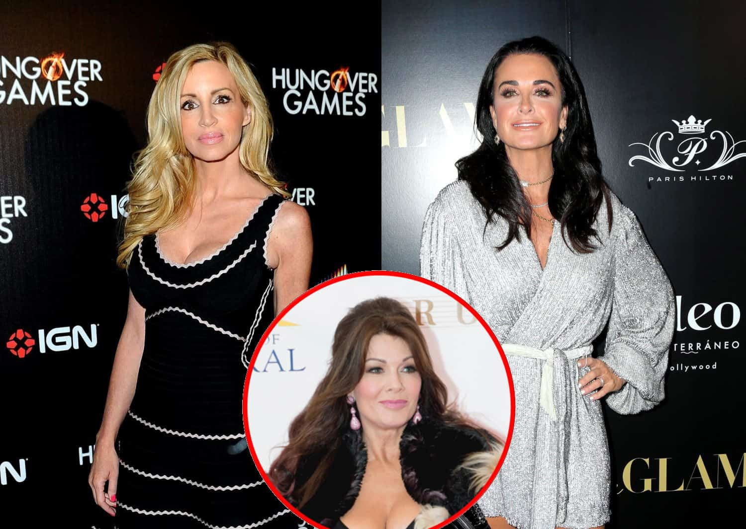 Camille Grammer Accuses Kyle Richards of Trashing Lisa Vanderpump Off-Camera, See Kyle's Response in RHOBH Reunion Sneak Peek
