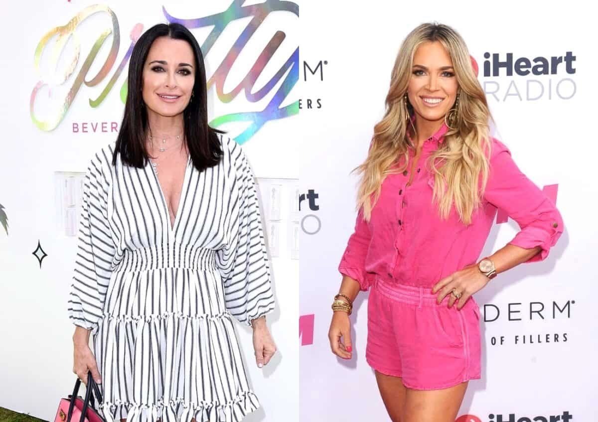 Kyle Richards Denies Teddi Mellencamp is a 'Bad Influence' and Defends Their Friendship, Plus She Talks RHOBH Ratings and Live Viewing Thread!