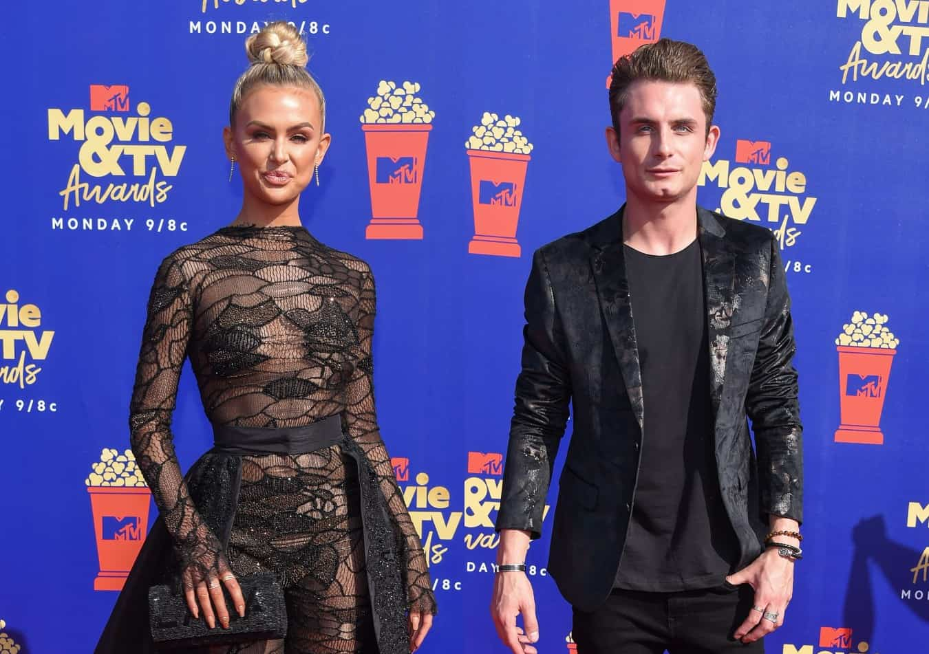 PHOTO: Vanderpump Rules Stars Lala Kent and James Kennedy Reconcile Their Friendship Amid Season 8 Filming