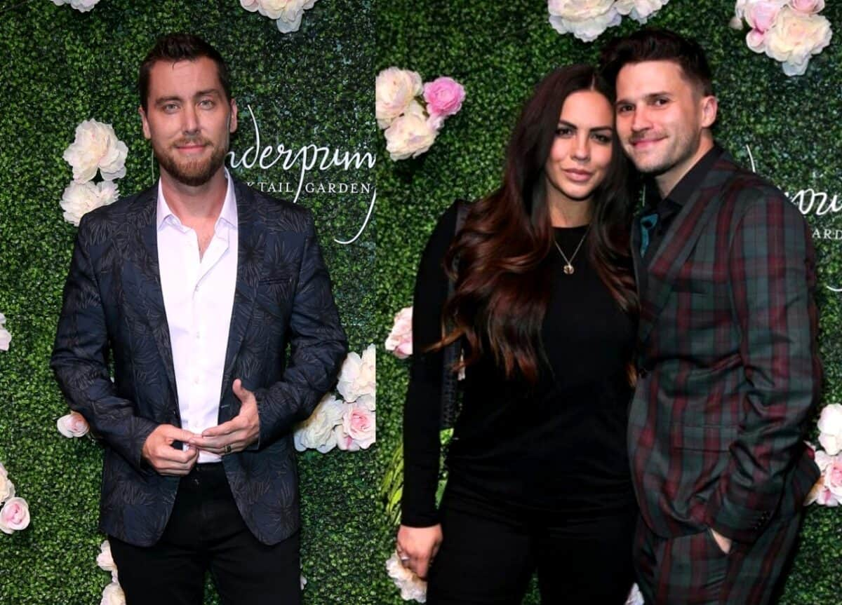 Lance Bass Discusses Revelation About Vanderpump Rules' Tom Schwartz and Katie Maloney