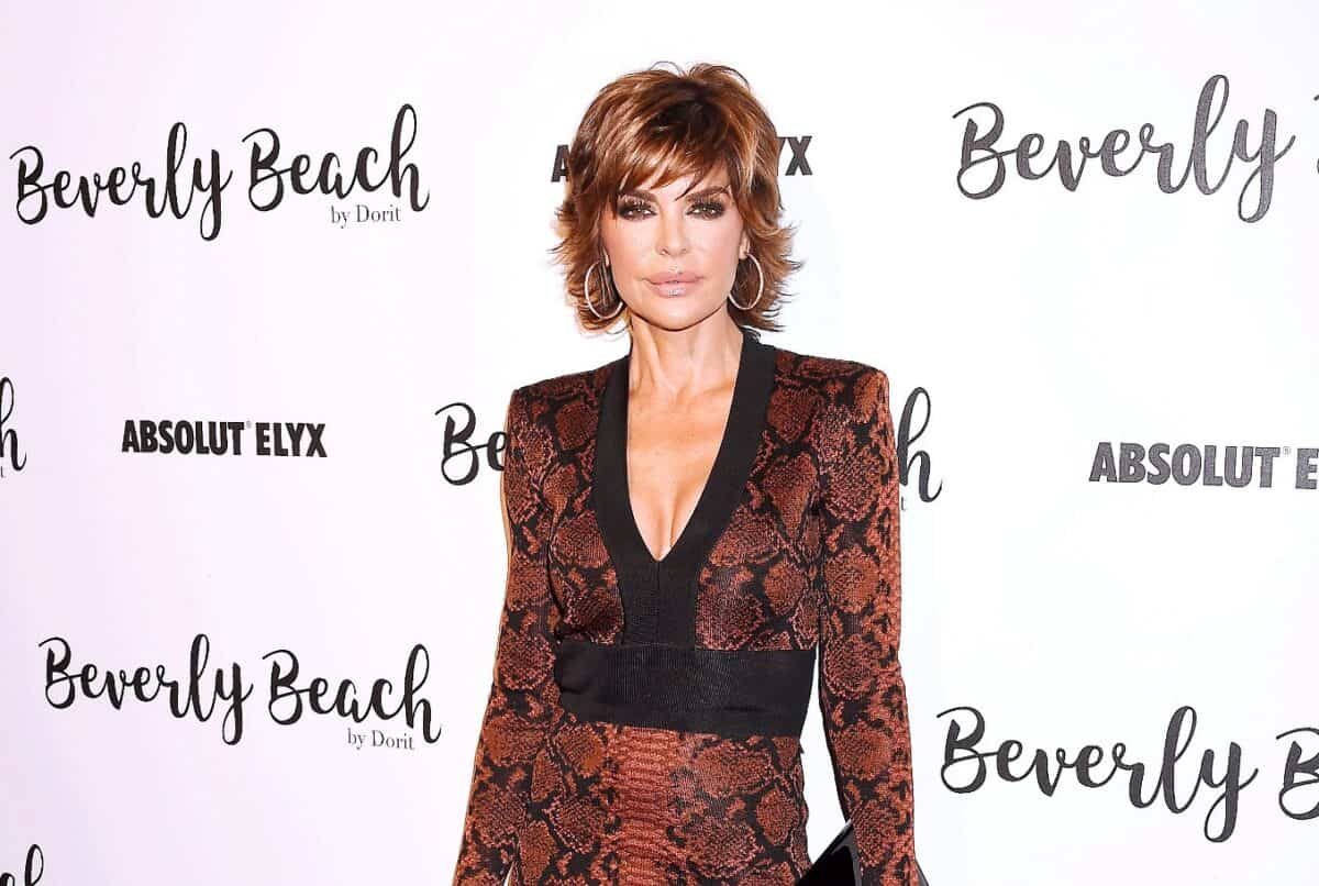 RHOBH's Lisa Rinna Reveals She 'Probably' Has Issues With Food, Admits She's 'Gone to Therapy' for It