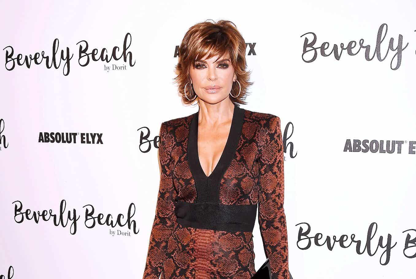 PHOTOS: Lisa Rinna Wears Nothing But Sunglasses in Racy Campaign, See What Her RHOBH Co-Stars Are Saying as Daughters and Husband Harry React